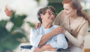 Сиделка для больного Альцгеймером